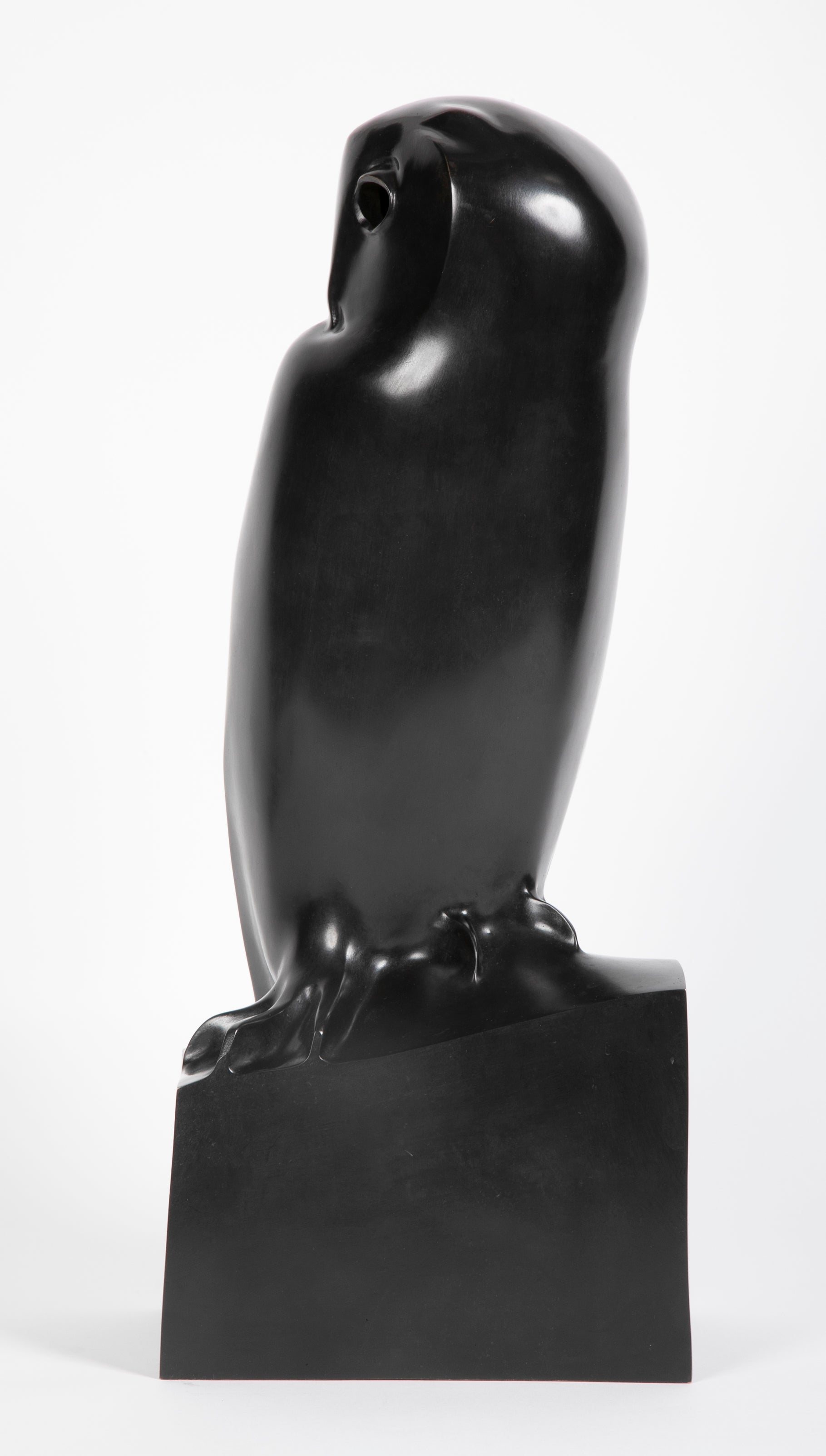 "Bronze Owl Titled ""Grand Duc"" by Francois Pompon"