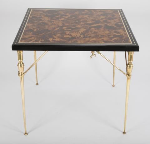 Faux Tortiseshell Games Table