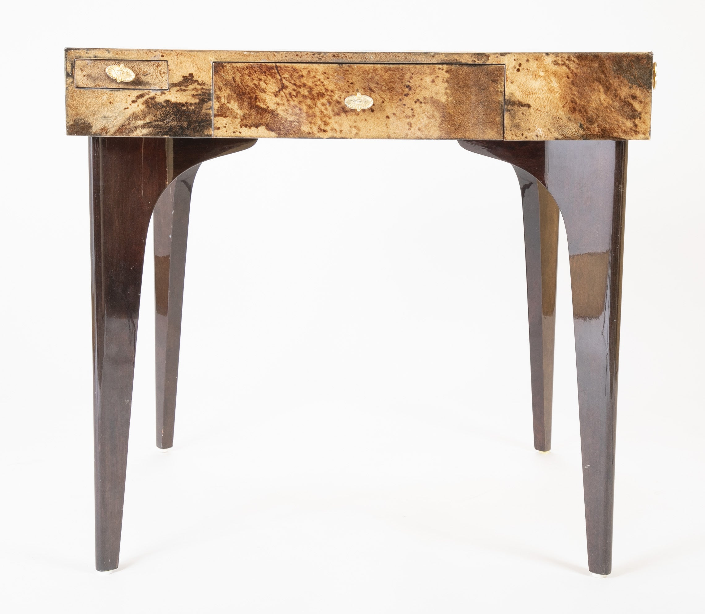 Parchment Game Table by Aldo Tura