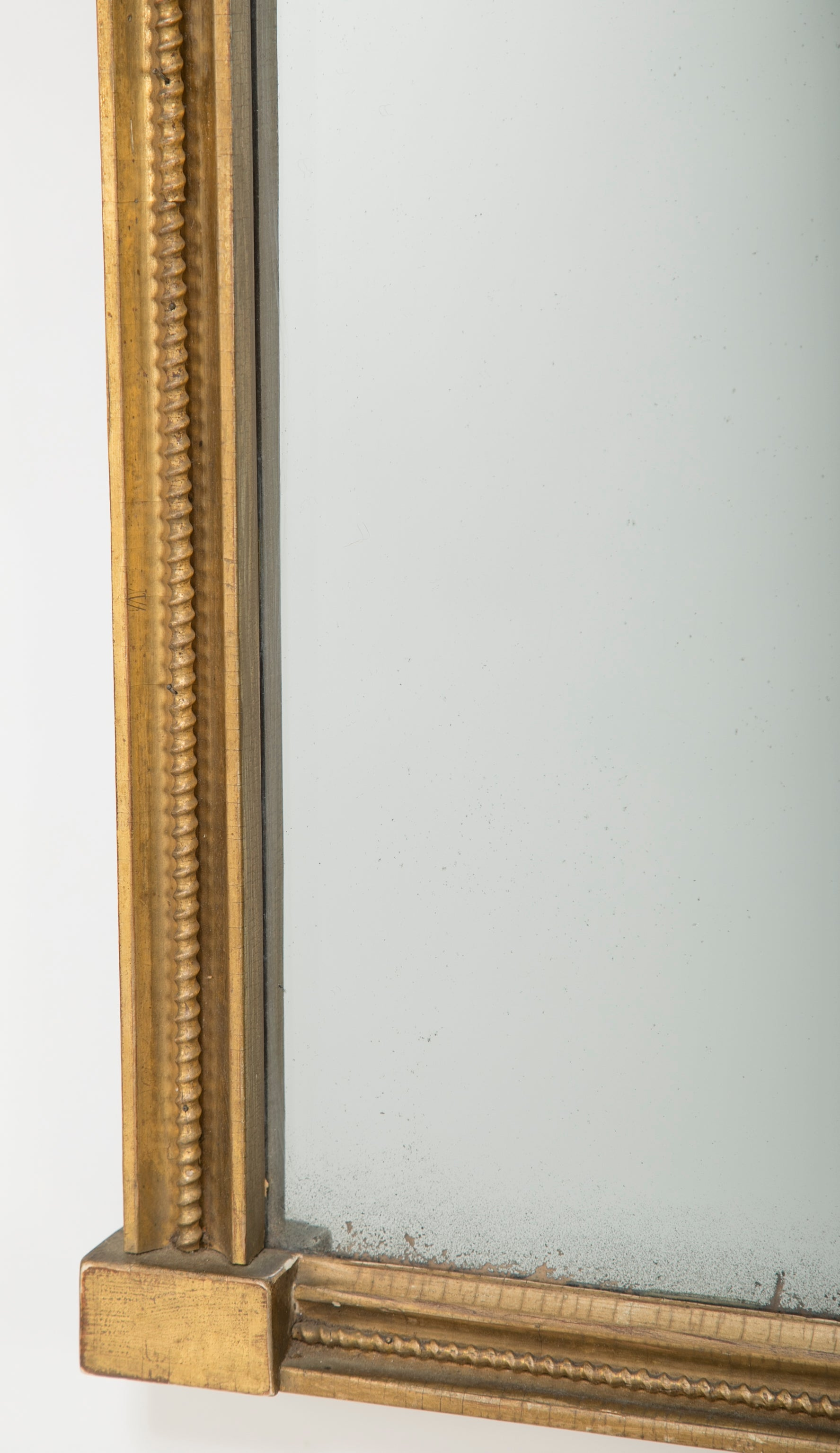 American Federal Pier Mirror with Original Eglomise Panel