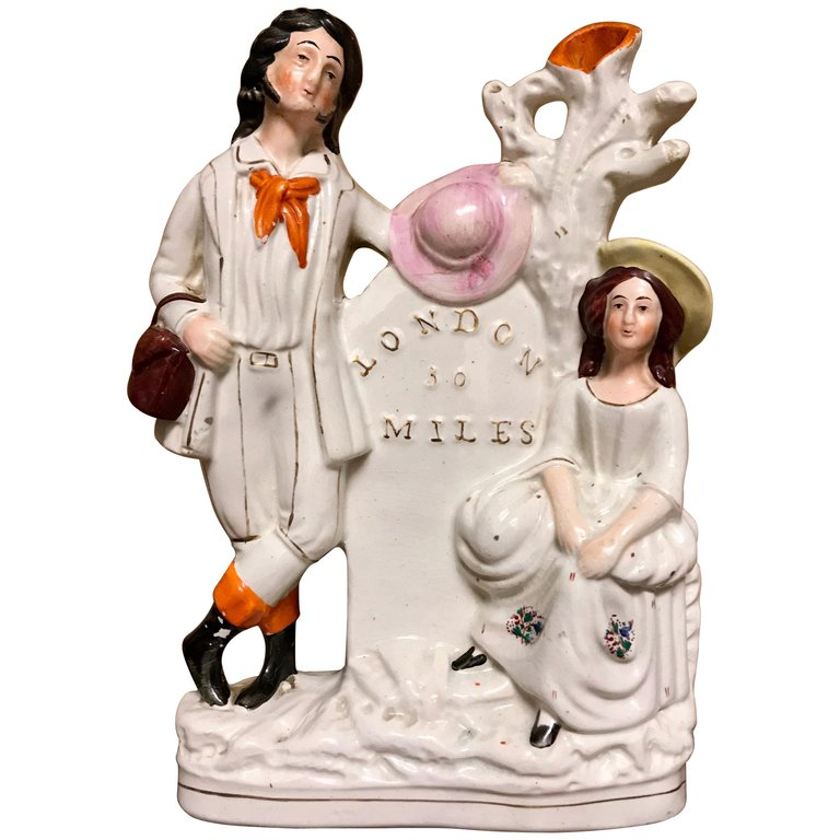 19th Century English Staffordshire Group