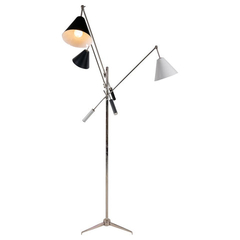 Floor Lamp in the Style of Angelo Lelli's Triennale, Italy, 2011