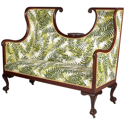 Large English Edwardian Settee