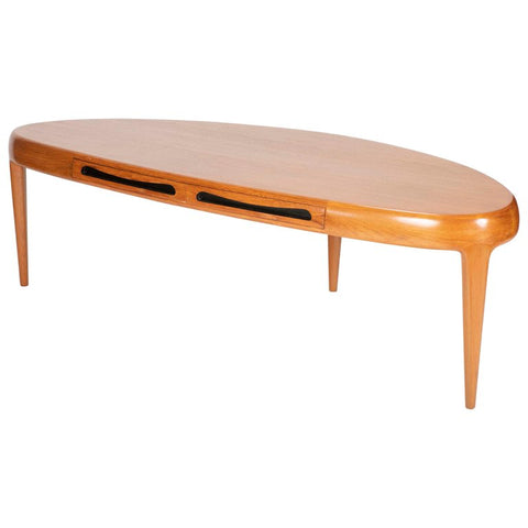 "Teak ""Capri Coffee Table"" by Johannes Anderson"