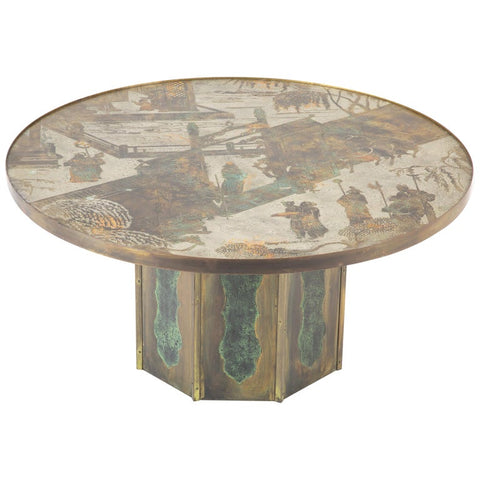 Kelvin & Phillip Laverne Signed Coffee Table