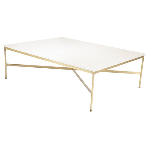 Paul McCobb for Calvin Vitrolite Coffee Table