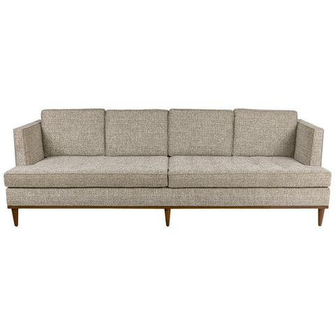 Mid-Century Style Four-Seat Sofa by Lost City Arts