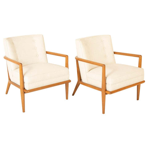 Pair of T.H. Robsjohn Gibbings Armchairs