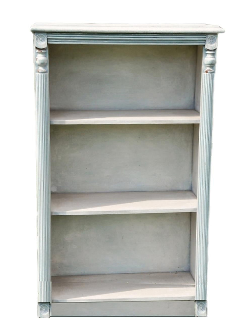French Painted Bookshelf