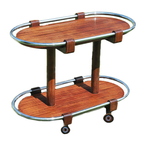 Rosewood Serving Cart
