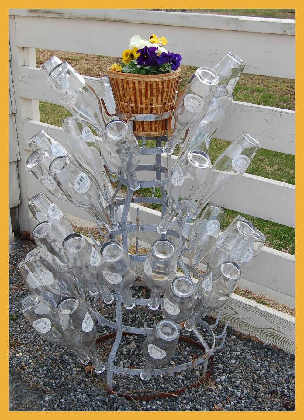 French Wire Wine Rack