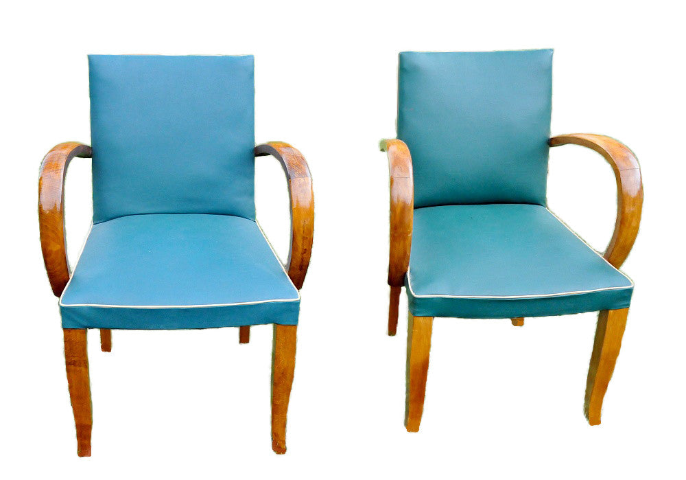French Mid Century Armchairs