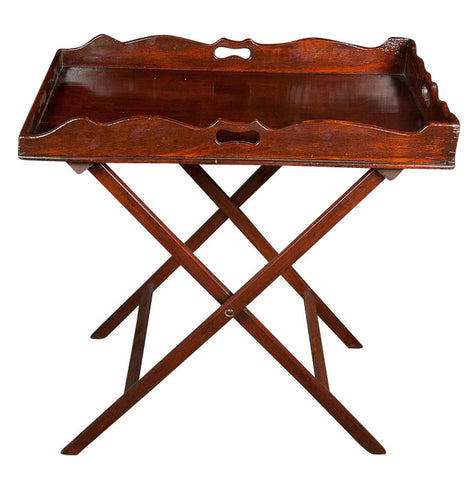 English Mahogany Butler's Tray