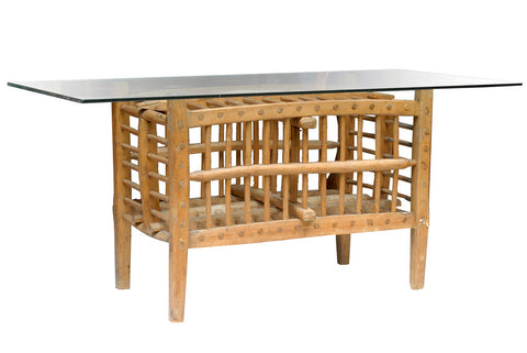 French Chicken Coop Table