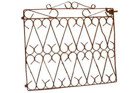 French Antique Iron Gate