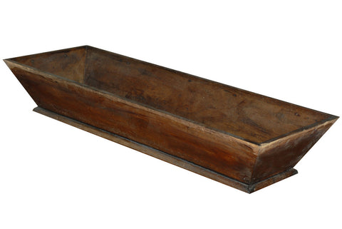 French Walnut Trough