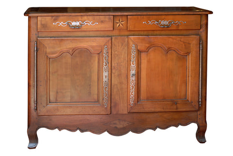 French Fruitwood sideboard