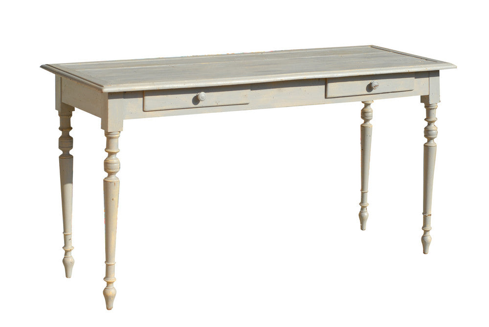 French Gray Side Table