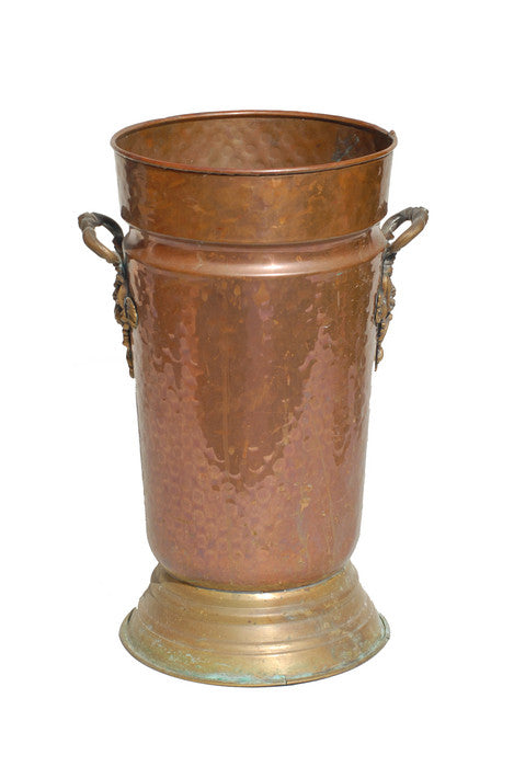 Forged Metal Urn