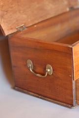 Wooden Storage Box with Drawer