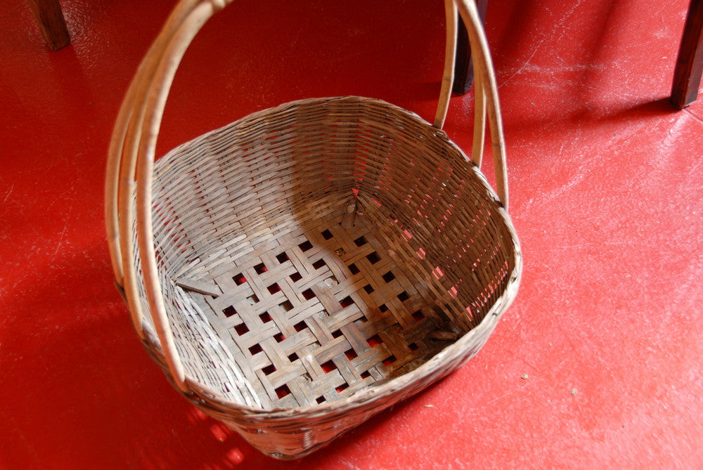 Asian Vintage Basket