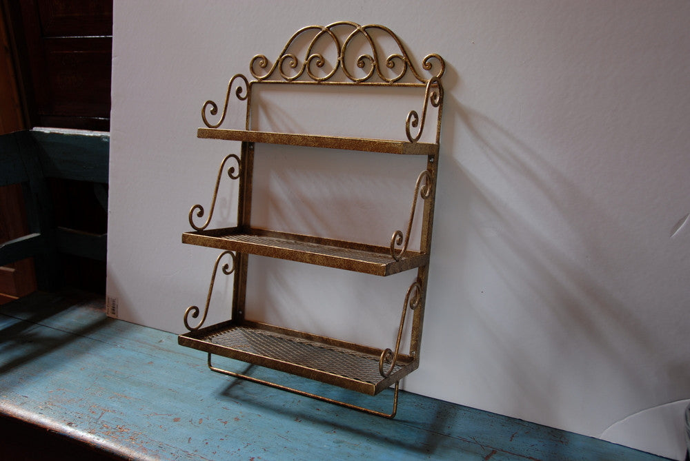 American Metal Wall Shelf