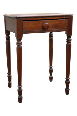 American Cherry Wood Bedside Table