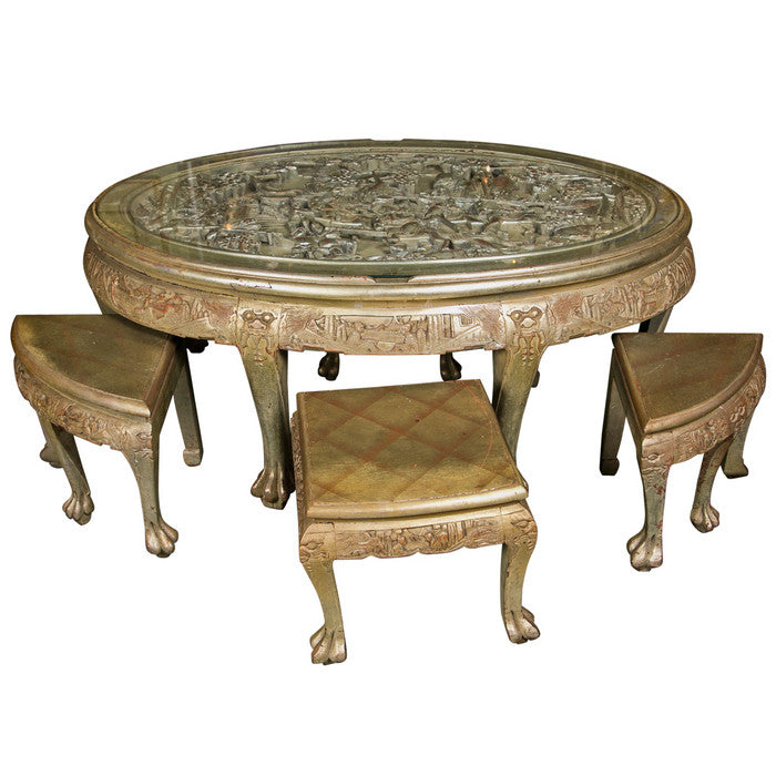 Cocktail Table Attributed to James Mont