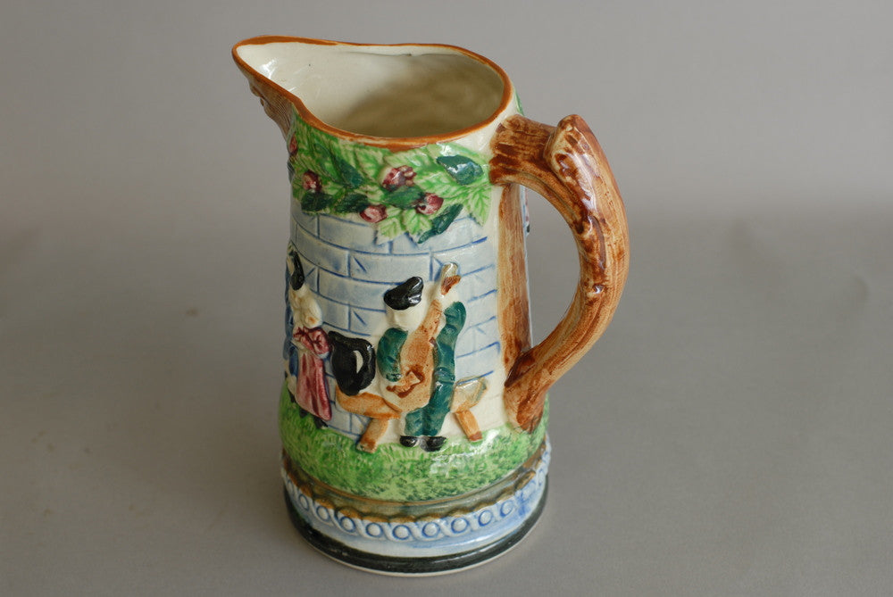 German Ceramic Pitcher