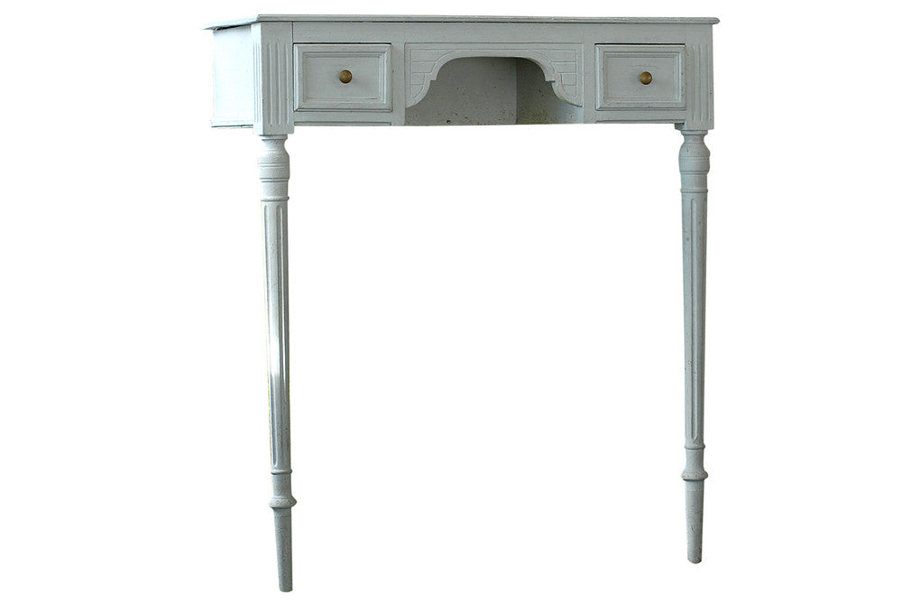 French Painted Wall Mounted Console