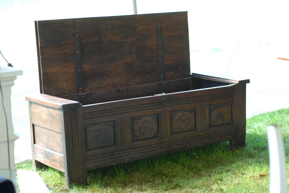 Large Carved Coffer
