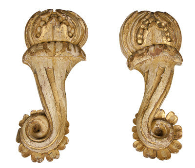 Pair of Architectural Wall Elements