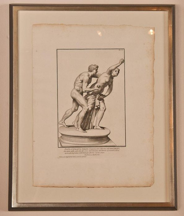 Set of 12 Rossi Engravings