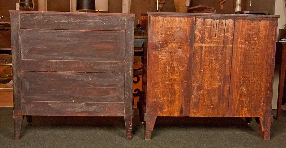 A Matched Pair of American Commodes