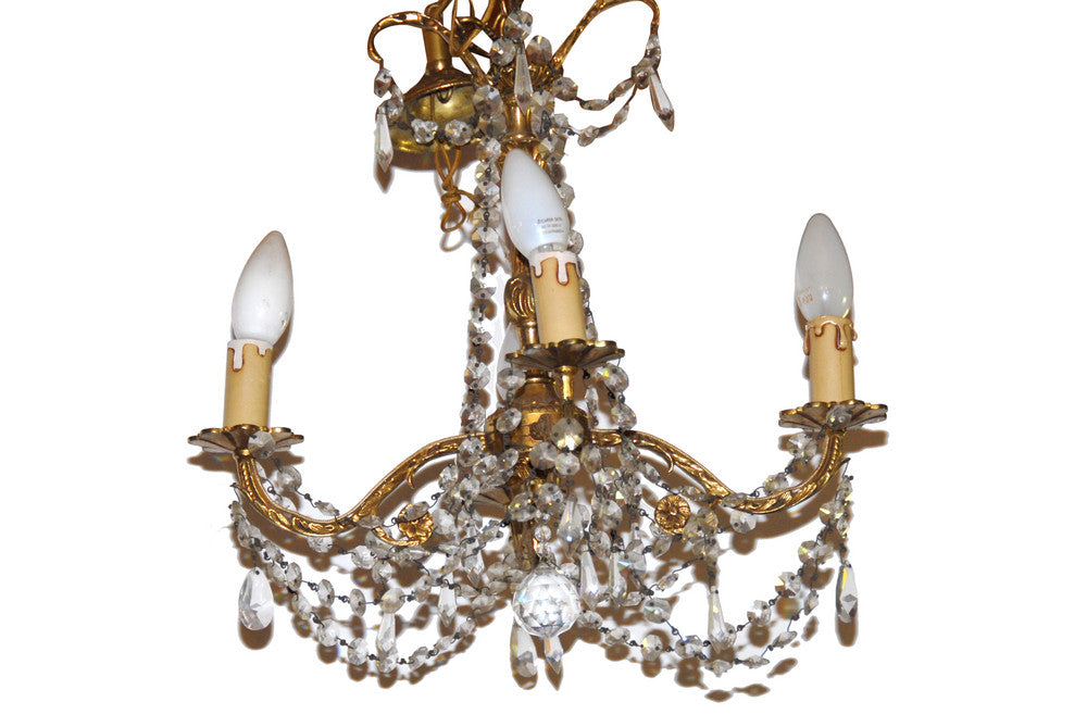 A 4-arm Miniature Chandelier