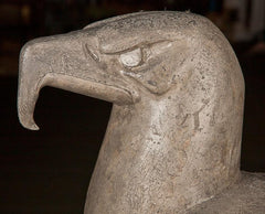 Cast Plaster Figure Of An Eagle