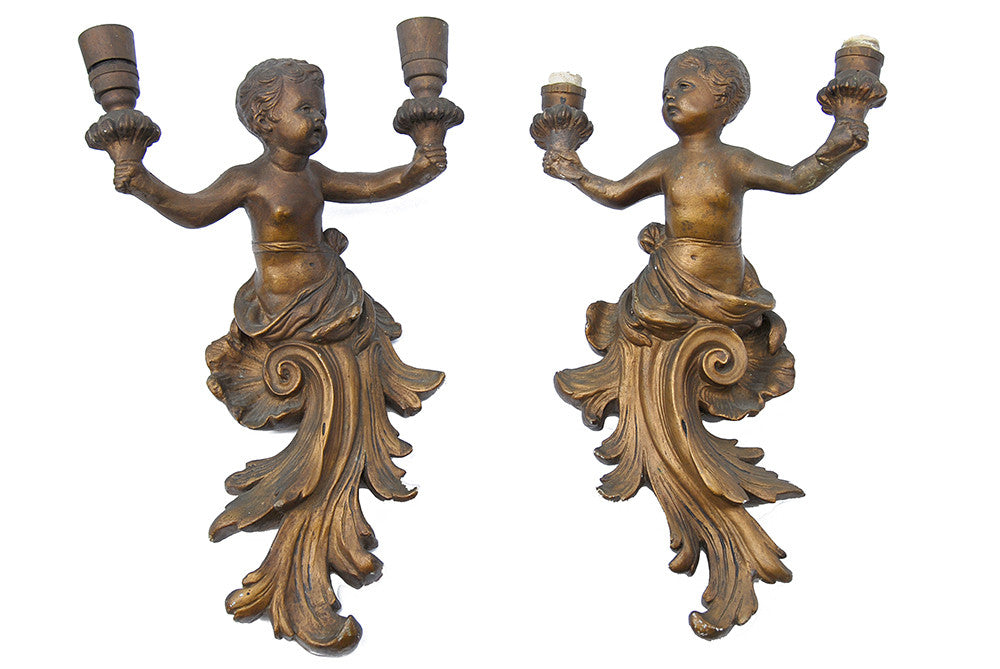 Cherub Sconces