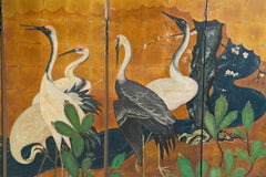 Hand Painted Japanese Screen