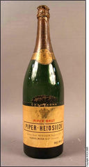 Vintage Advertising Champagne Bottle