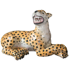 Large Ceramic Leopard