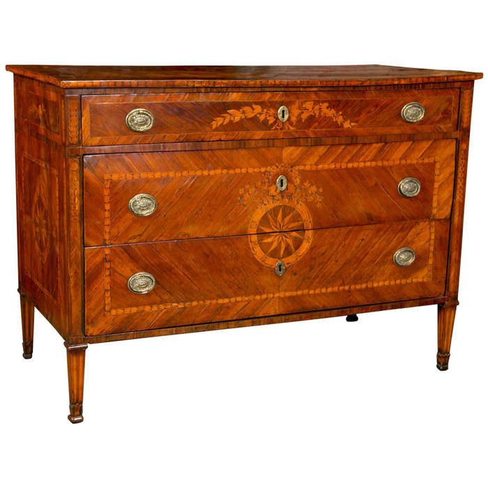 Italian Neoclassical Commode