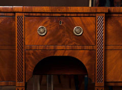 Graceful Regency Period Sideboard