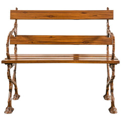 French Cast Iron Bench