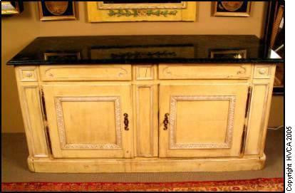 Painted French Buffet