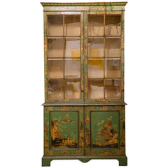 George III Japanned Bookcase