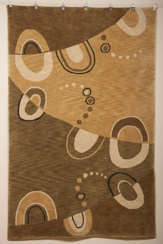 A Contemporary Hand Knotted Wool Carpet