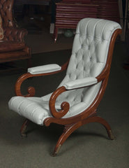 Mahogany Campeche or Plantation Chair