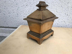 Grand Tour Bronze Sarcophagus Form Box