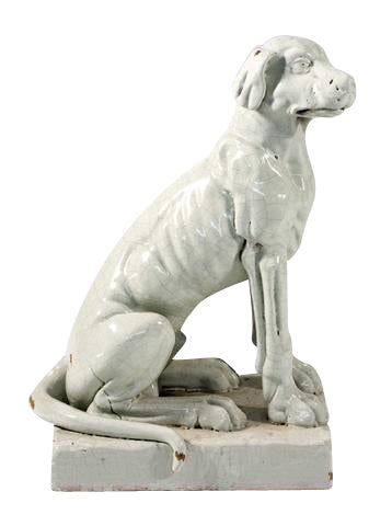 Terra Cotta Figure of a Dog