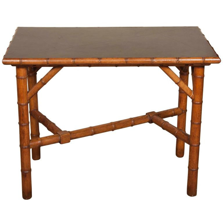Aesthetic Movement Bamboo Table